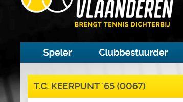 Hoe inschrijven via tennis Vlaanderen
