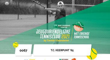 jeugdvriendelijke tennisclub en erkende tennisschool 2021